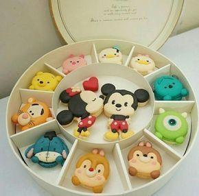 joli boite Macarons #TsumTsum Disney