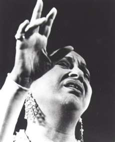 Umm Kulthum (أم كلثوم‎), Egyptian singer and Arab cultural icon