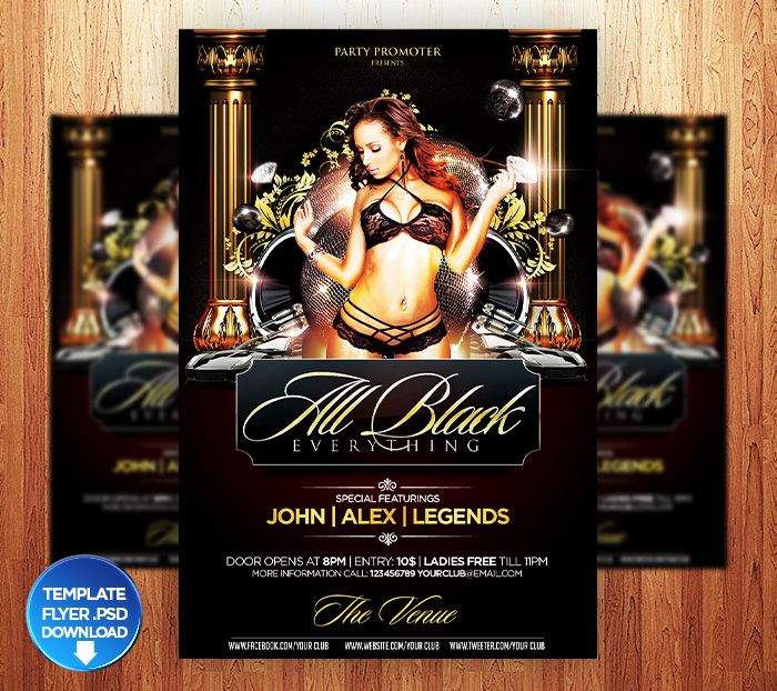 birthday___all_black_flyer_template_by_grandelelo-d5tufrzjpg (700 - black flyer template