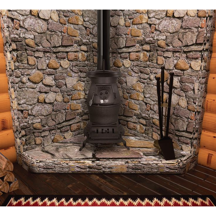 11 Best Images About Potbelly Stoves On Pinterest Stove Hearth And River Rocks