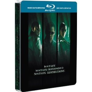 Matrix Trilogy Limited Blu Ray Steelbook: Amazon.co.uk: Keanu Reeves, Carrie-Ann Moss, Laurence Fishburne, Andy Wachowski, Larry Wachowski: Film  TV