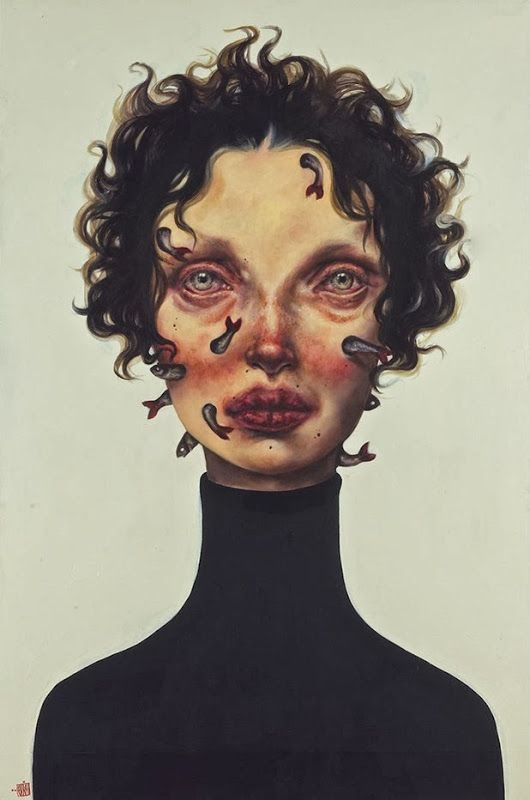 paintings by afarin sajedi