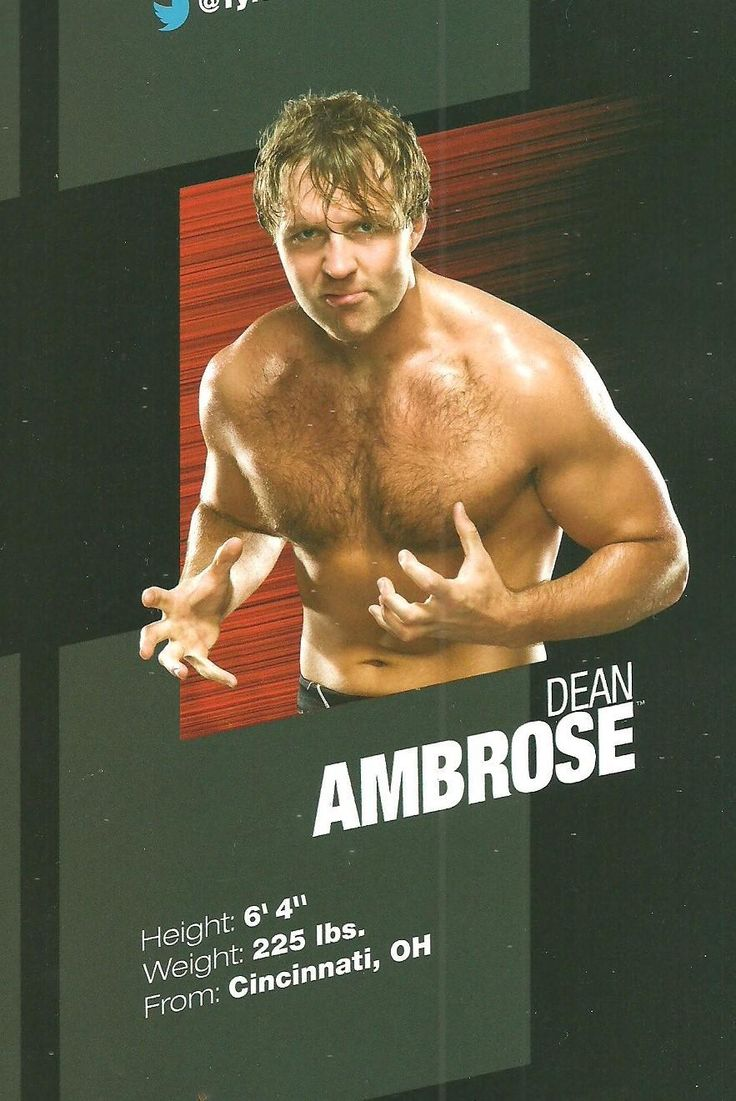 @DeanAmbroseNet Blast from the past: Ambrose in the 2012 WWE Official Program (Credit: @that_katie)