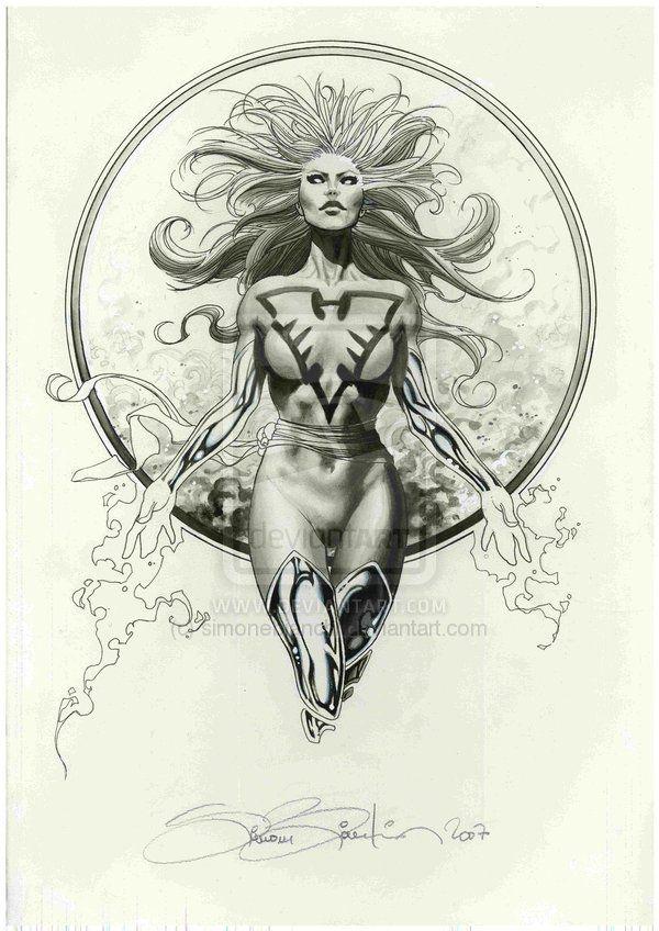 Dark Phoenix by Simone Bianchi