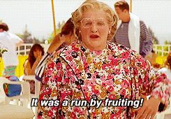 Pin for Later: 16 Moments That Prove Mrs. Doubtfire Will Always Be Hilarious Then She Blames an Imaginary Hooligan