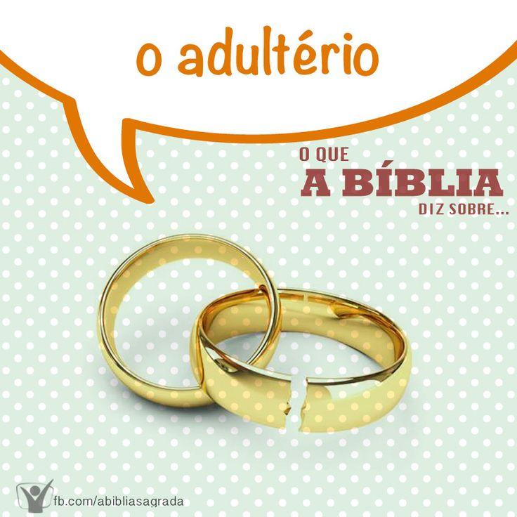 """Os mandamentos de Deus proíbem o adultério. A Bíblia diz em Êxodo 20:14 """"Não adulterarás."""" Saiba mais em http://biblia.com.br/perguntas-biblicas/categoria/adulterio/"""