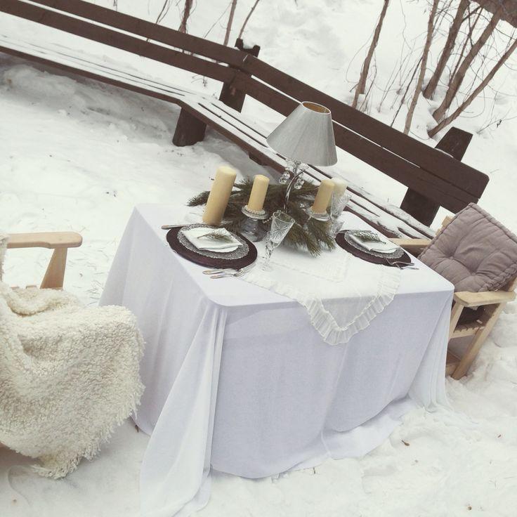 Декор. Свадебная фото сессия. Зимняя фото сессия