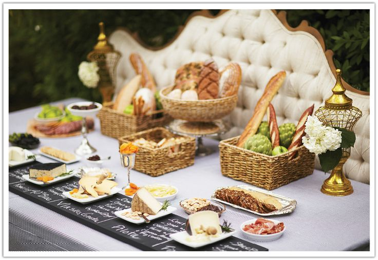 An interactive cheese table suggesting pairings for each kind.  Created by Alchemy Fine Events www.alchemyfineevents.com