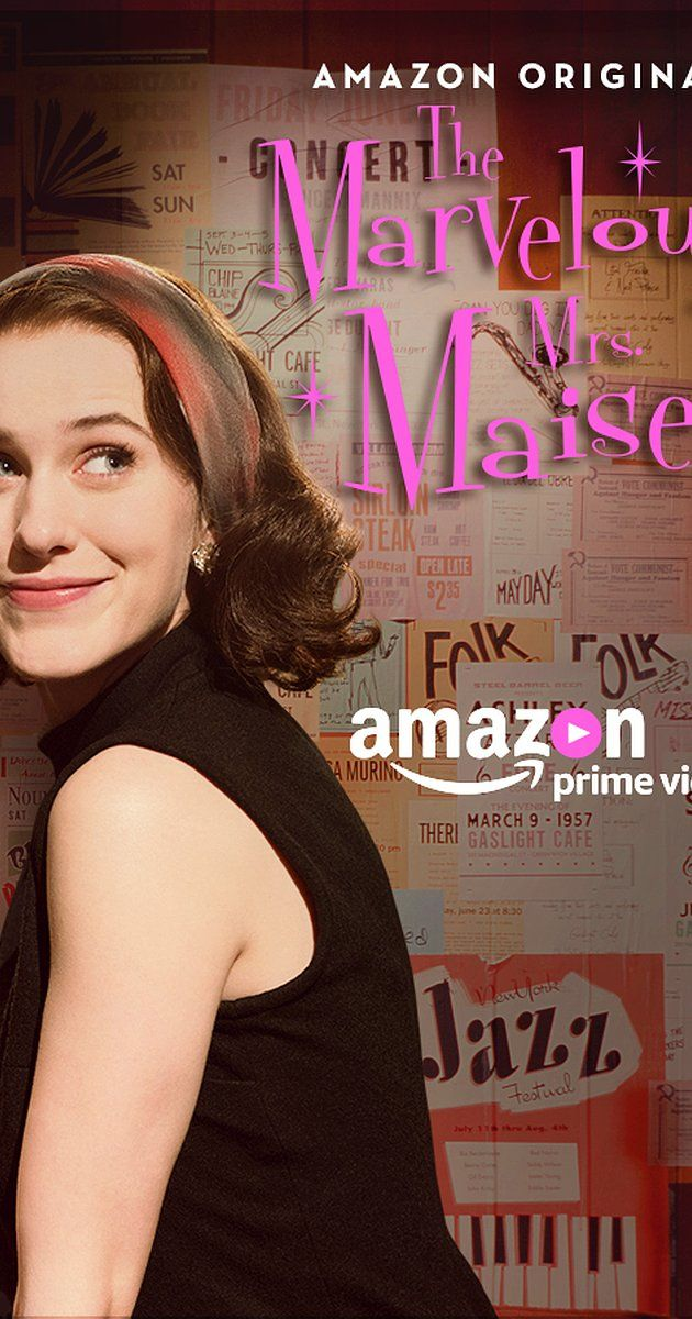 Directed by Amy Sherman-Palladino.  With Rachel Brosnahan, Marin Hinkle, Alex Borstein, Tony Shalhoub. A housewife in the 1950s decides to become a standup comic.