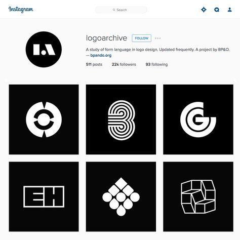 Logoarchive: los mejores isotipos del siglo XXI en Instagram