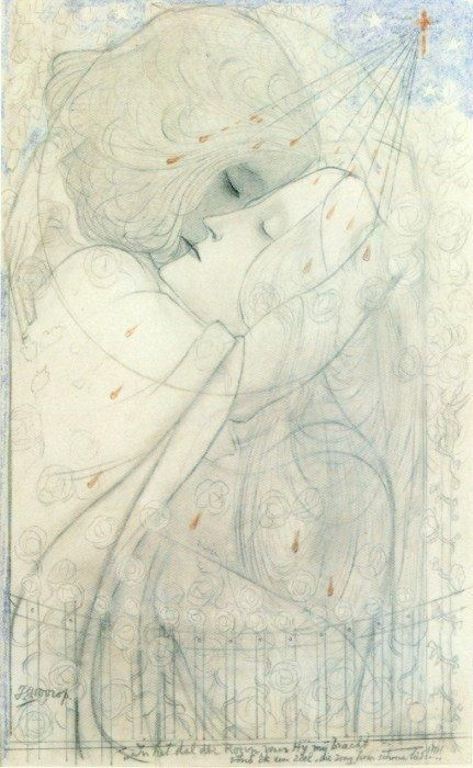 Jan Toorop - I actually own one of his sketches dated 1923!