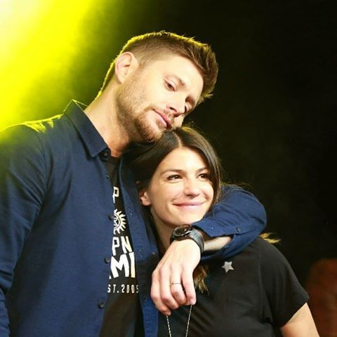 Jensen is such a sweetheart. He pretends to be all gruff but is really a teddy bear =)
