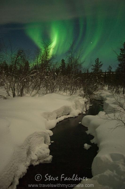 Northen Lights - Kiruna, Sweden.