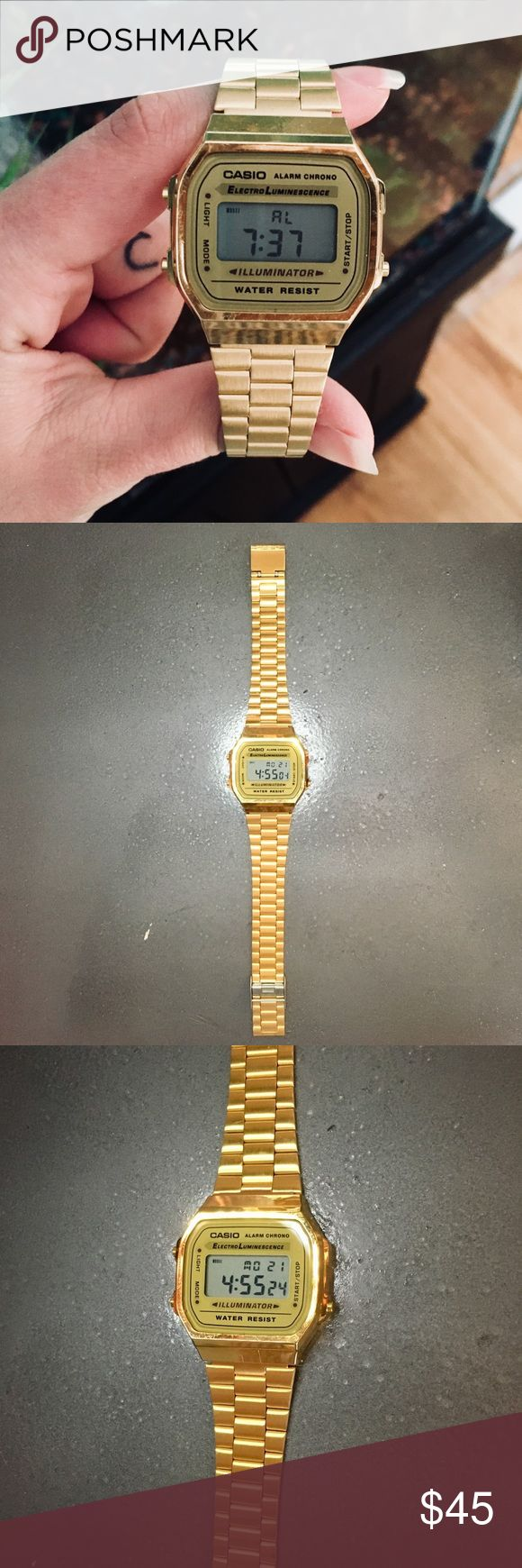 I just added this listing on Poshmark: {Casio} • classic gold digital watch. #shopmycloset #poshmark #fashion #shopping #style #forsale #Casio #Other