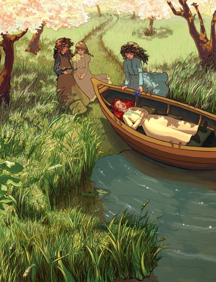hollydeirling: Finished Anne of Green Gables piece from my ...
