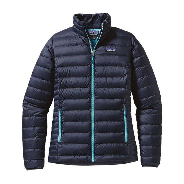 Patagonia Women\'s Down Sweater Jacket - Navy Blue NVYB