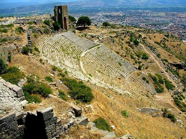 I'd like to see Pergamon in Turkey. Such an important city in ancient times.