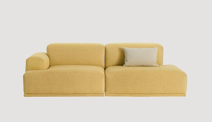 Muuto Connect Sofa 2 seater - модульный диван на wooddi.com. Дизайнерский диван-конструктор. Обивочные ткани в ассортименте.
