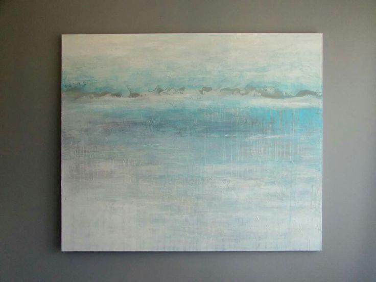 Pejzaż inspirowany morzem - obrazy Sylwia Michalska