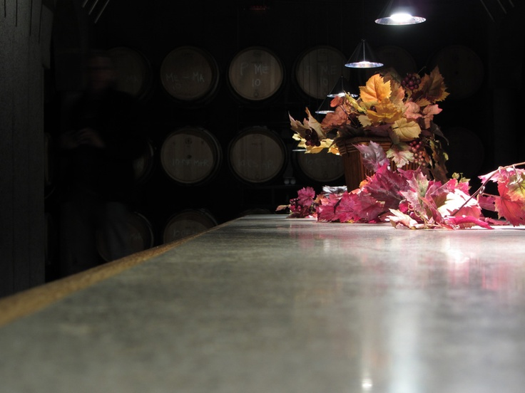 November 2011 trip to Niagara Falls, visit to Pilliteri Winery.. and a couple others on a wine tour. This is in the cellar of the family owned winery where they would hold family dinners etc.. love the warm ambiance and dramatic lighting. The smell.. mmmm I can recall.. Placed my camera on the table and used the timer to snap this..Their website - http://www.pillitteri.com/ .. great icewine :)