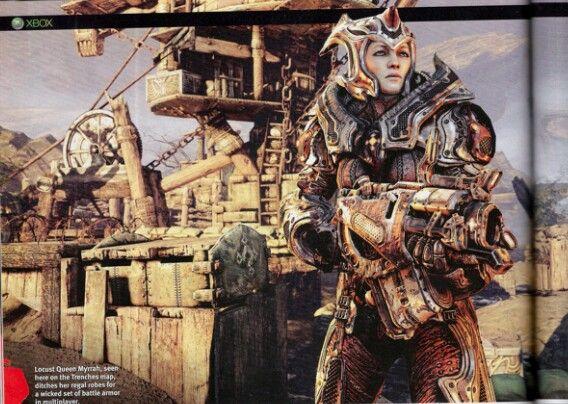 Gow Myrrah Locust Queen