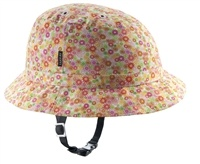 Lovely stylish bike helmet - Tokyo Flower Set - from YAKKAY