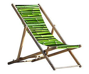 sdraio pieghevole in legno e poliestere bamboo 59x151 cm arredi giardini pinterest in. Black Bedroom Furniture Sets. Home Design Ideas