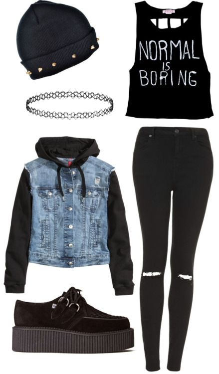 Black grunge outfits tumblr - Google Search | midna | Pinterest | Black grunge Outfit and Grunge