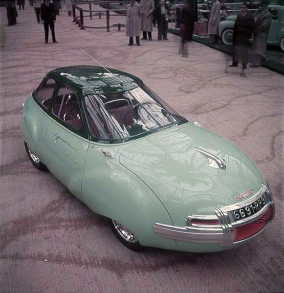 Panhard Dynavia prototype, 1948 Photos by Yale... - simple dreams...