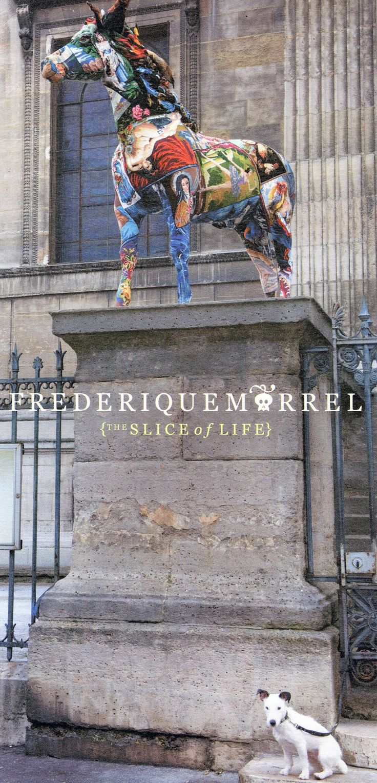 frédérique morrel: life sized embroidered tapestry sculptures - designboom | architecture & design magazine
