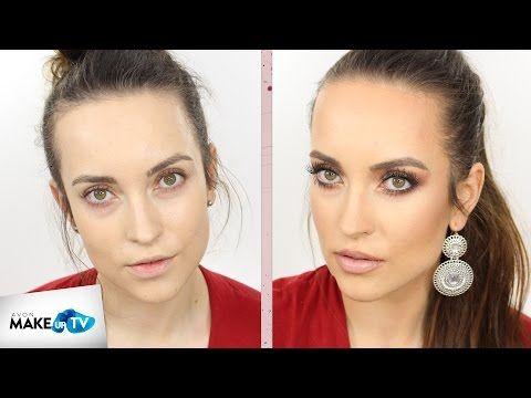 Makijaż Gwiazd, czyli jak makijażem upodobnić się do Jennifer Lopez - tutorial Hani - YouTube