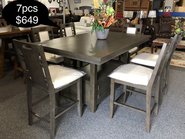 Brand New Solid Dining Table Set With Storage For Sale In Fresno
