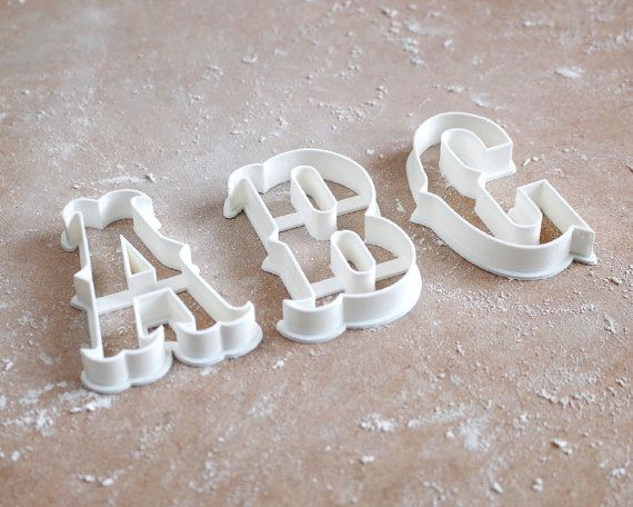 Carnival Letter Cookie Cutter Vintage Circus By Rochaixco