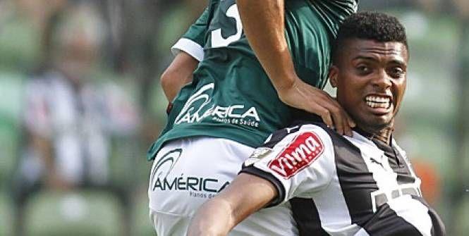 Jemerson arrive de l'Atletico Mineiro à Monaco, pour cinq ans. (Presse Sport)