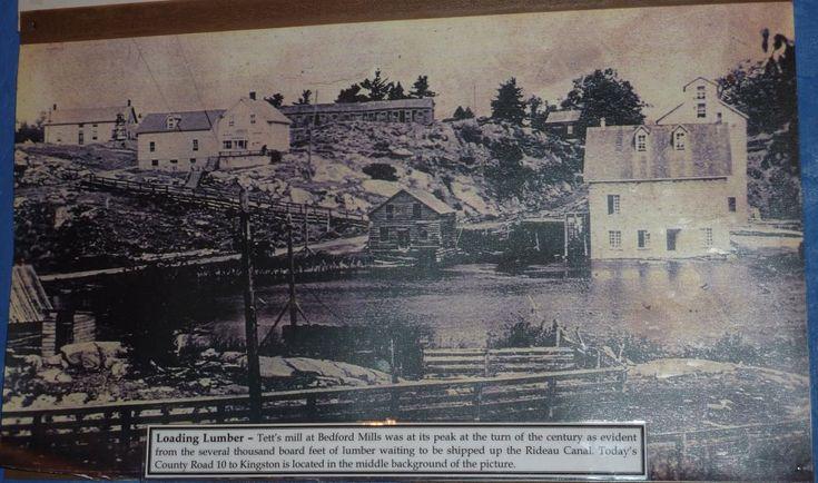 Bedford Mills, Ontario, before 1900