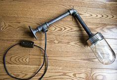 4 пошаговых мастер класса, как сделать люстры в стиле лофт из полимерных труб водопровода. Делаем настольную лампу, бра и подвесные светильники: инструкции, фото
