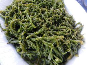 10 Great Turkish Vegetable Dishes: Samphire With Olive Oil, Or 'Deniz Börülcesi'