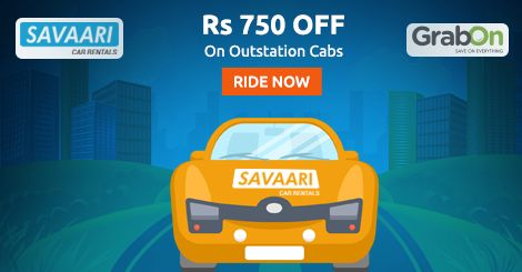 Did You Get Your #Savaari? Get Rs 700 Off On Outstation cabs. Ride Now - http://www.grabon.in/savaari-coupons/ #SaveOnGrabOn
