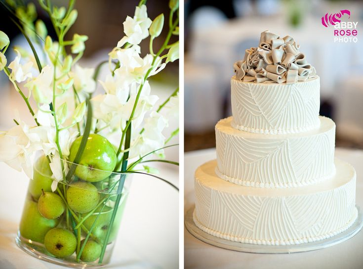Green Apple Centerpiece Wedding