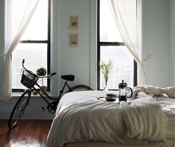 Двухколесный декор: велосипед в интерьере. Идеи хранения велосипеда дома. Интерьеры с велосипедами (фото)