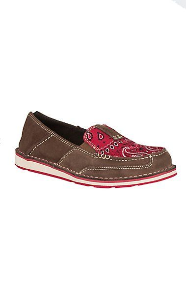 Ariat Women's Red Paisley Cruiser Casual Shoe | Cavender's