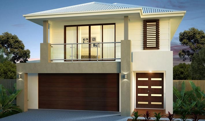 Alliance Display Homes: Queensland - Manhattan 283 Regal Facade. Visit www.localbuilders.com.au/display_homes_qld.htm for all display homes in Queensland