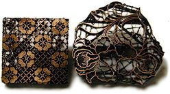 Indonesian Copper Batik Tjaps for Batik and Stamping!