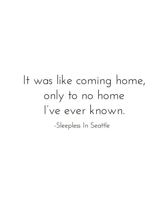 Sleepless in Seattle Quote