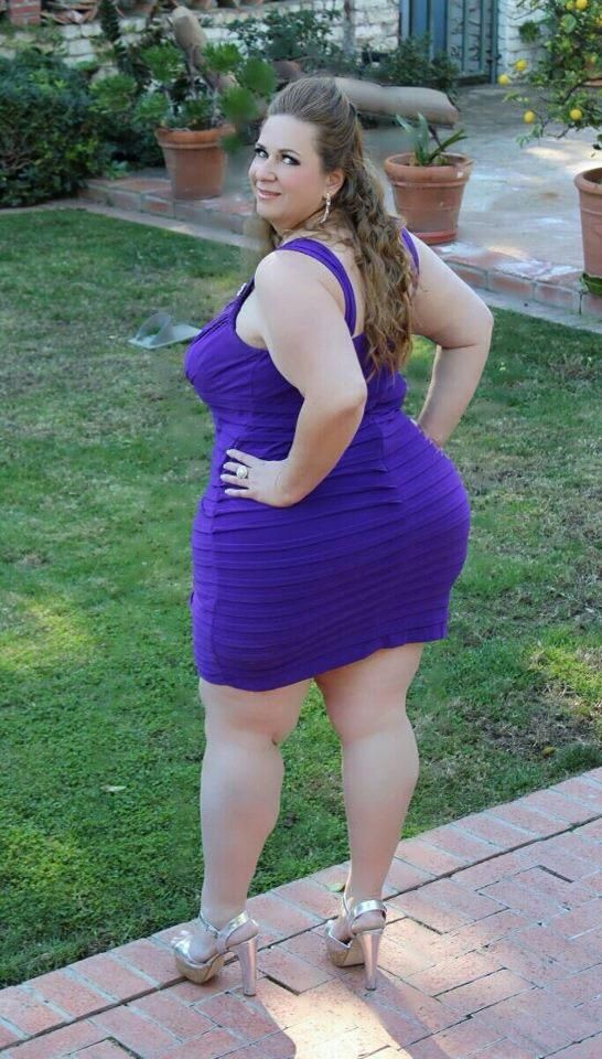 Fantastic Plus Size Curvy Girl No Doubt She Great Assets -5294