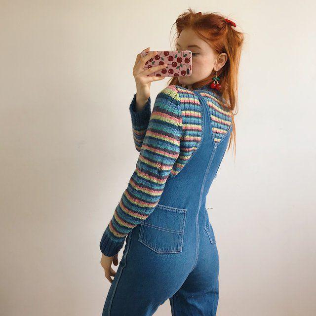 Pin By Sasha Goldstein On Clothing Vintage Denim Fashion Pants Overalls Women