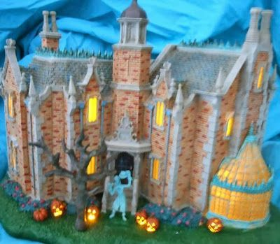 Halloween Shopaholic Disney Lighted Haunted Mansion