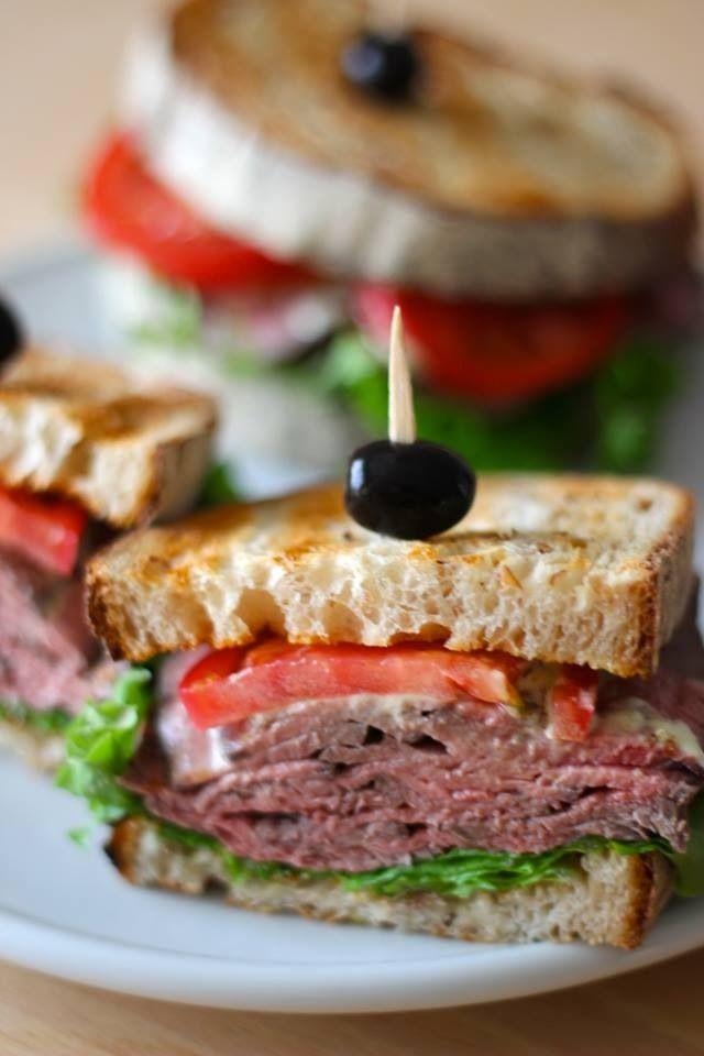 Roast beef sandwich - #BlueRibbon Classic