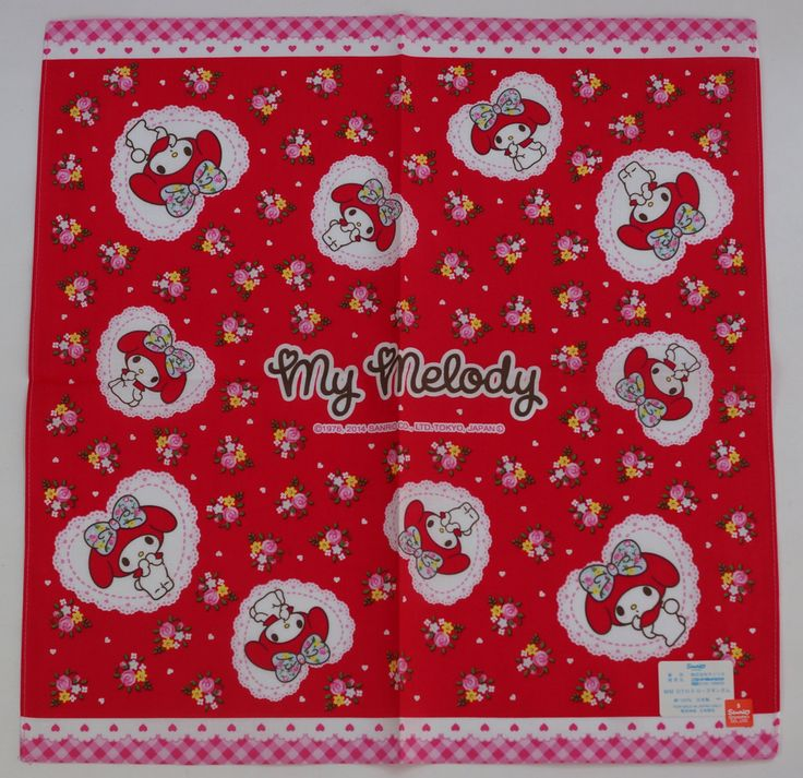 #MyMelody : Handkerchief CLICK THE FOLLOWING LINK TO BUY IT ( IF STILL AVAILABLE ) http://www.delcampe.net/page/item/id,0360660083,language,E.html