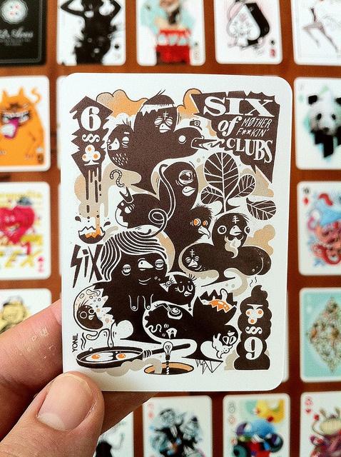 52 Aces by YONIL.com, via Flickr